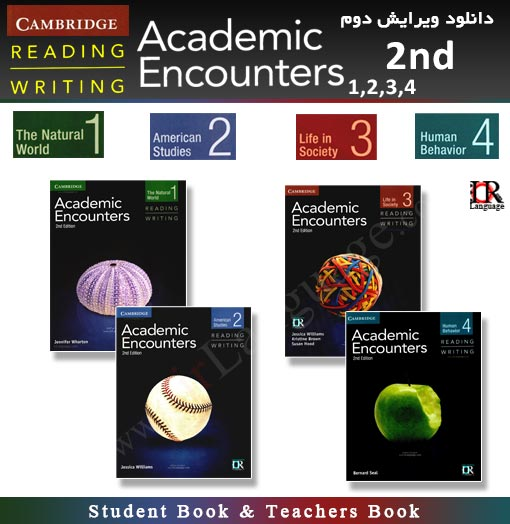 ویرایش دوم کتاب های Academic Encounters Reading & Writing 2nd