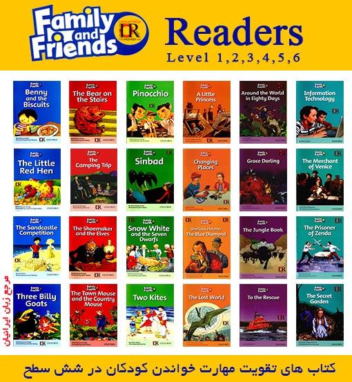 کتاب های Family and Friends Readers
