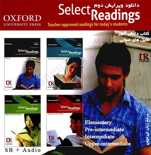 ویرایش دوم کتاب های Select Reading 2nd